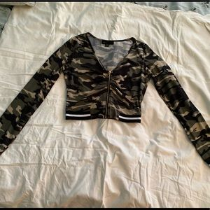 Other - Two piece camouflage set